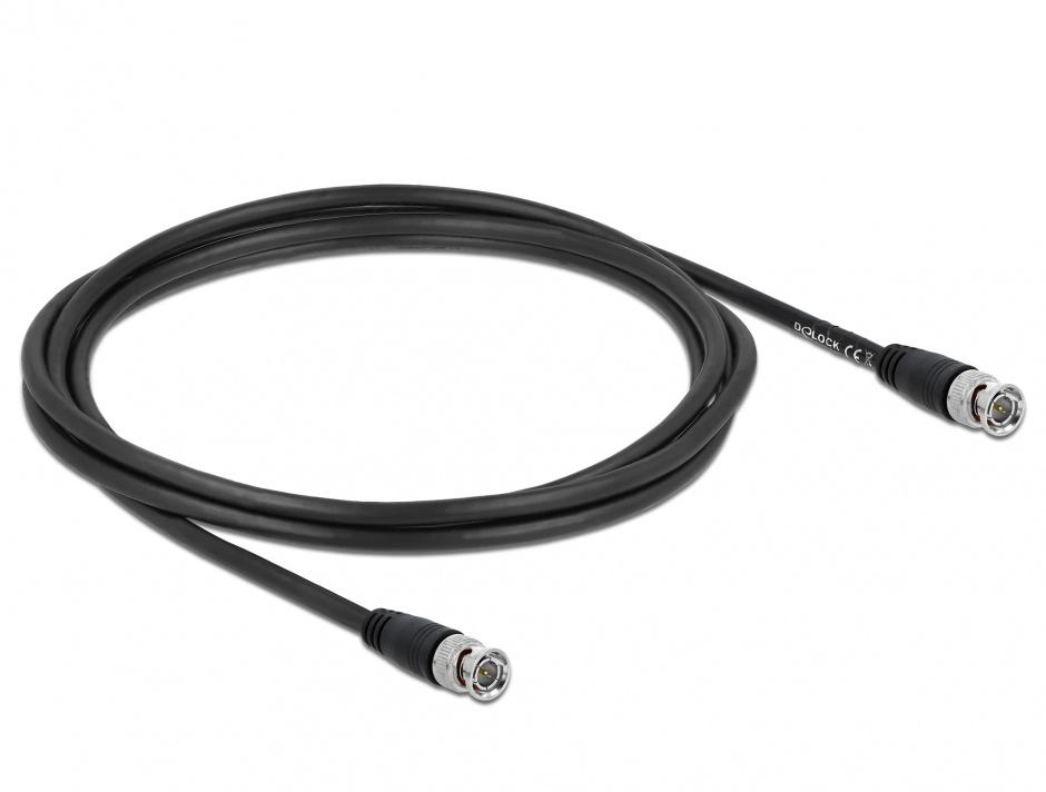 Imagine Cablu BNC T-T 2m, Delock 80082