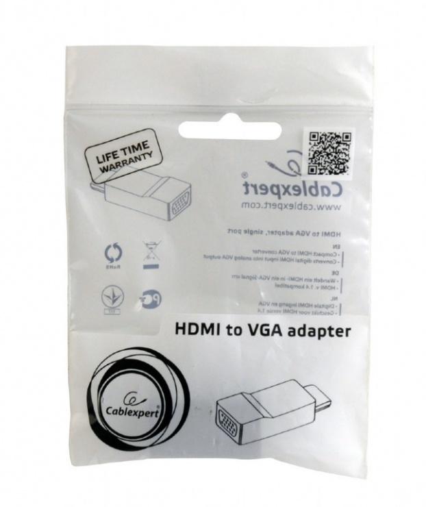 Imagine Adaptor HDMI la VGA T-M, Gembird A-HDMI-VGA-001-1
