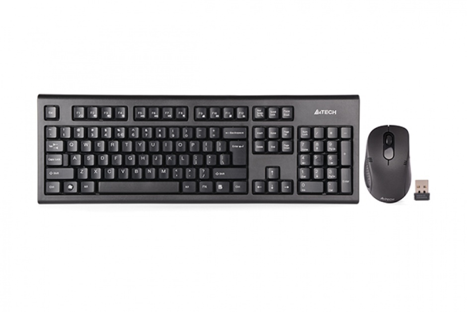 Imagine Kit tastatura + mouse Wireless Padless,  A4Tech 7100N