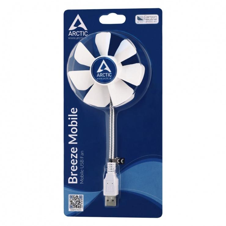 Imagine Ventilator portabil USB, Arctic Breeze Mobile