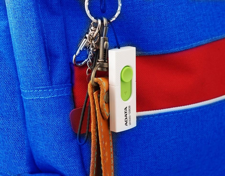Imagine Stick USB 3.2 Gen 1 128GB, ADATA AUV320-128G-RBKBL-2