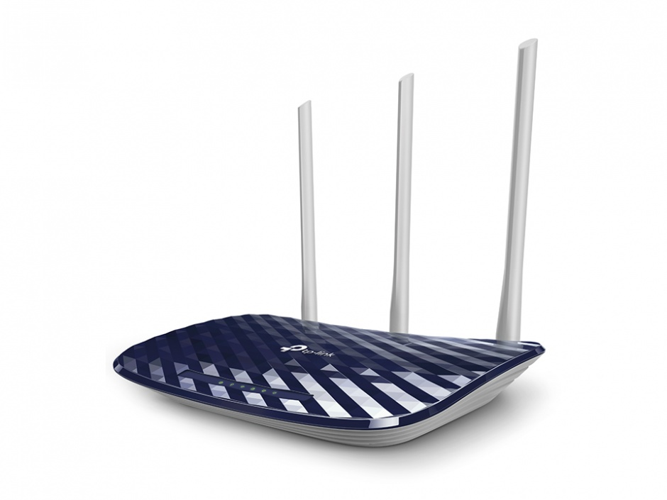 Imagine AC750 Router Wireless Dual Band, TP-LINK Archer C20-1