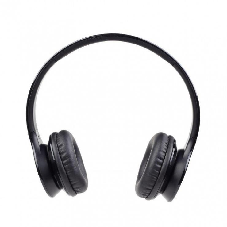 Imagine Casti Bluetooth cu microfon Berlin, Gembird BHP-BER-BK-1