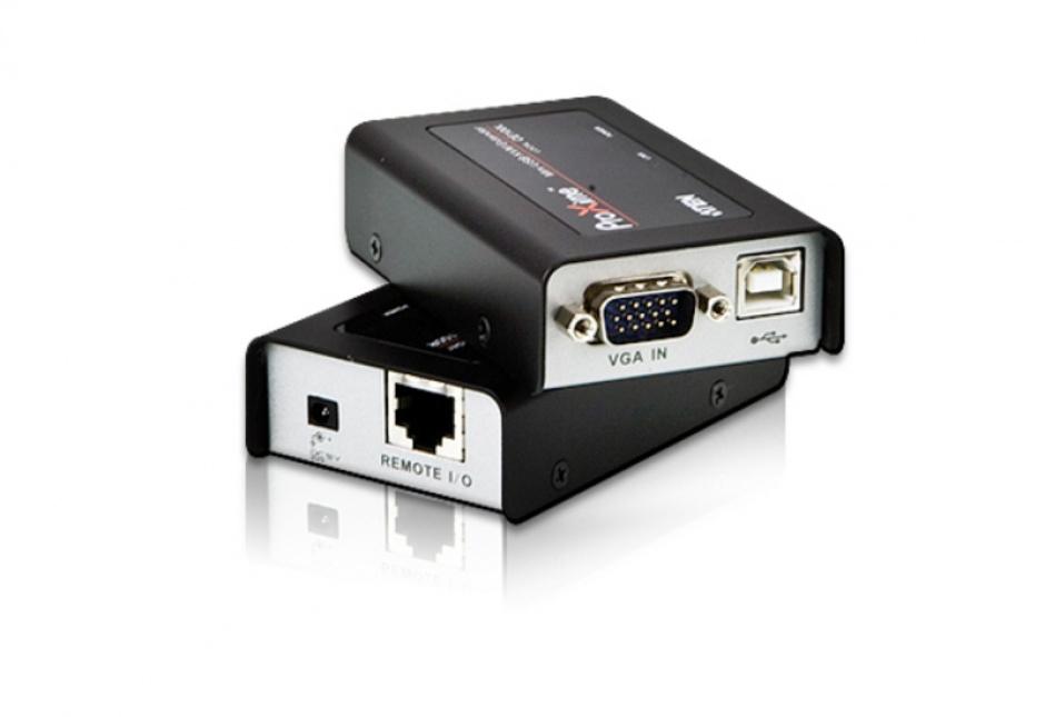 Imagine Mini KVM Extender USB VGA Cat 5 100m, Aten CE100