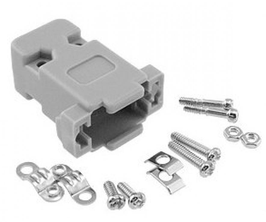 Imagine Carcasa din plastic pentru conector serial DB9, CK9