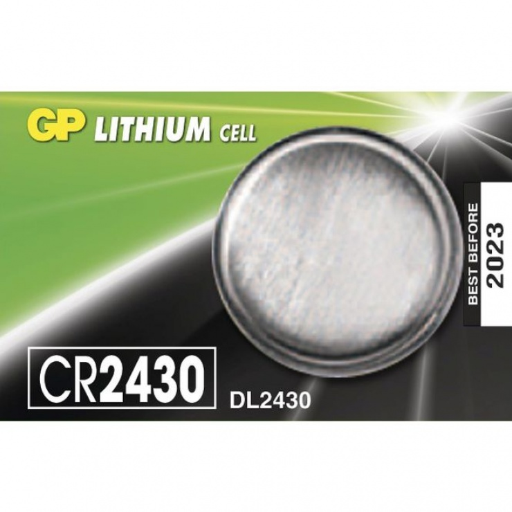 Imagine Baterie Litiu CR2430 3V, GP Batteries