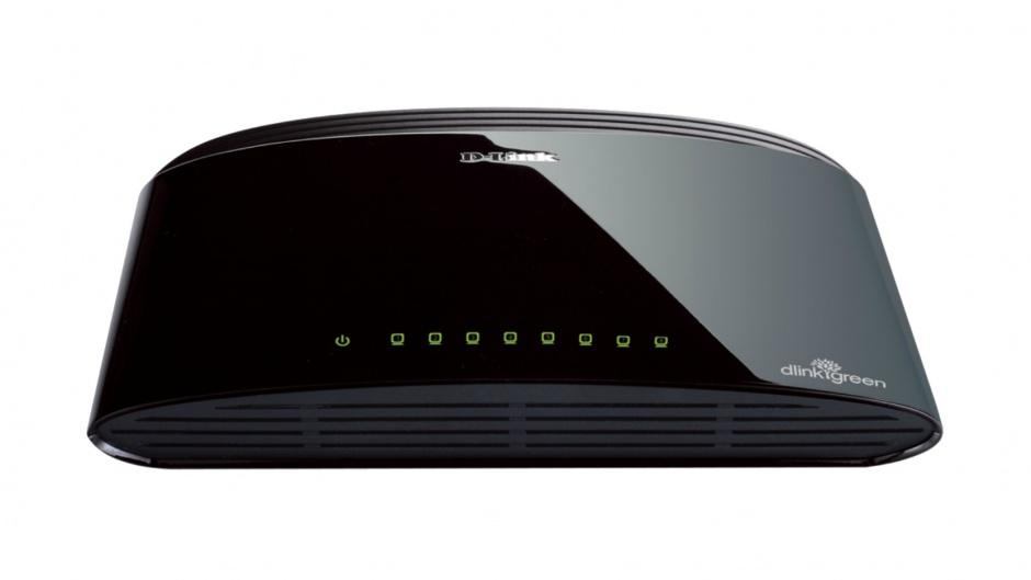 Imagine Switch Desktop 8 porturi 10/100 Mbps, D-LINK DES-1008D