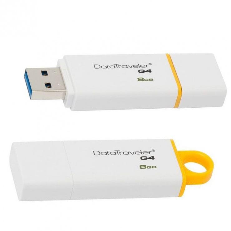 Imagine Stick USB 3.0 DataTraveler 8GB, KINGSTON DTIG4/8GB-1