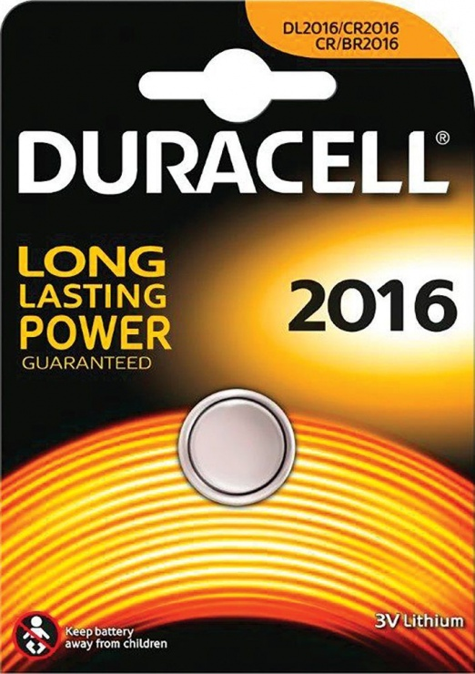 Imagine Duracell baterie Litiu 2016 3V