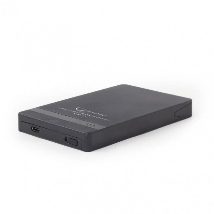 "Imagine Rack extern USB 3.1-C pentru HDD/SSD SATA 2.5"" , Gembird EE2-U31S-2"