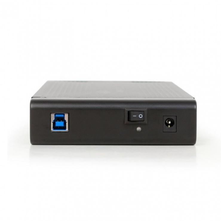 "Imagine Rack extern USB 3.0 pentru HDD SATA 3.5"", Gembird EE3-U3S-3"