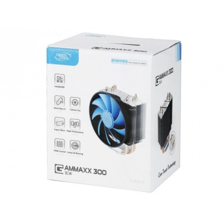 Imagine Cooler CPU 120mm, universal, DeepCool GAMMAXX300-1