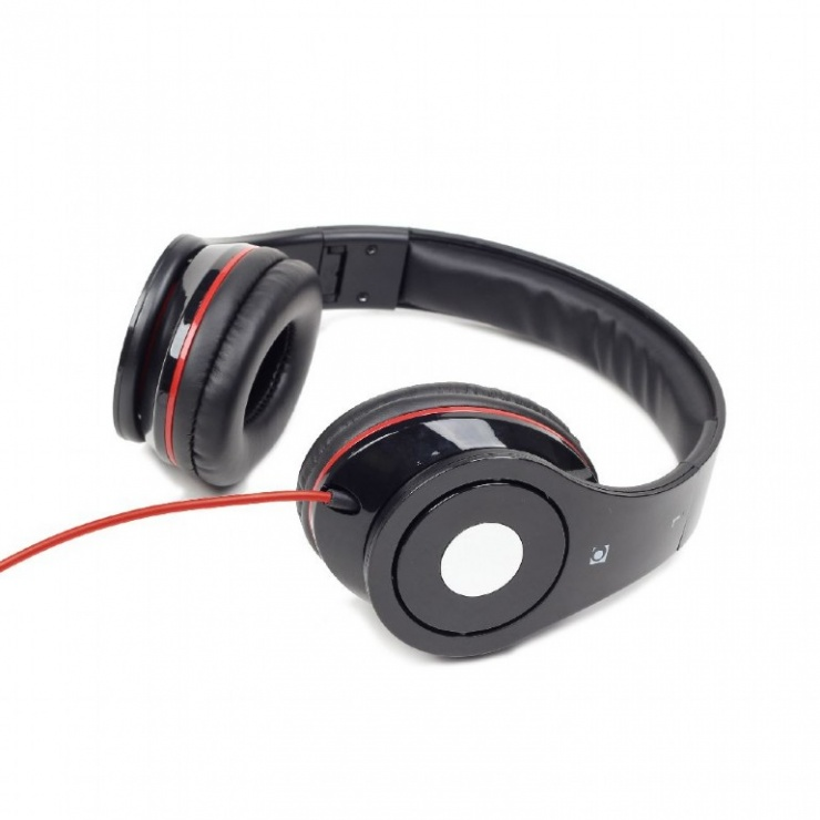 Imagine Casti stereo Detroit Black, Gembird MHS-DTW-BK-4