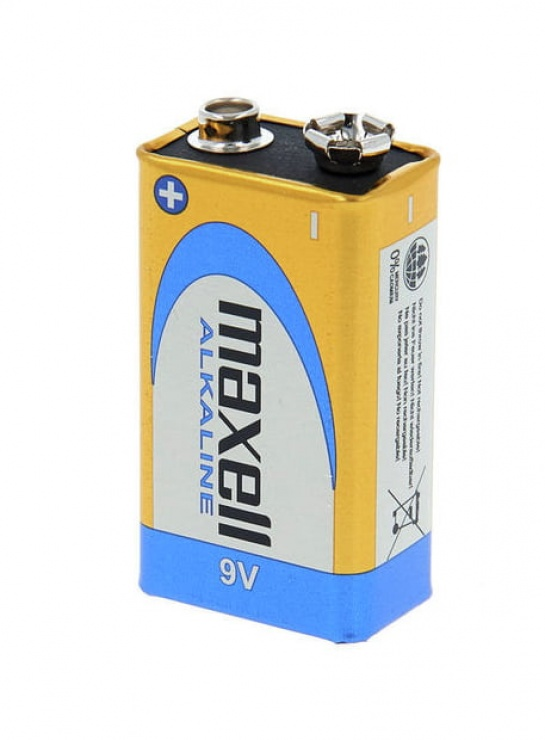 Imagine Baterie Alcalina 9V Blister, Maxell MN1604