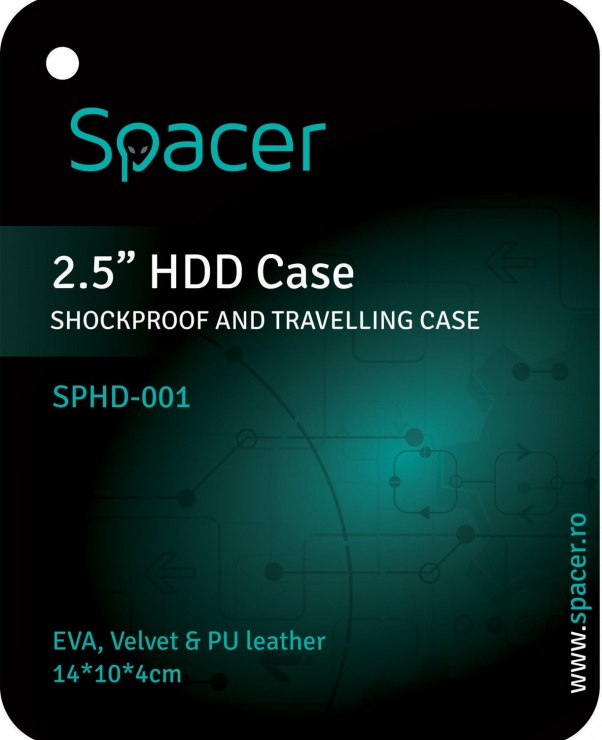 "Imagine Husa protectie HDD 2.5"", Spacer SPHD-001"