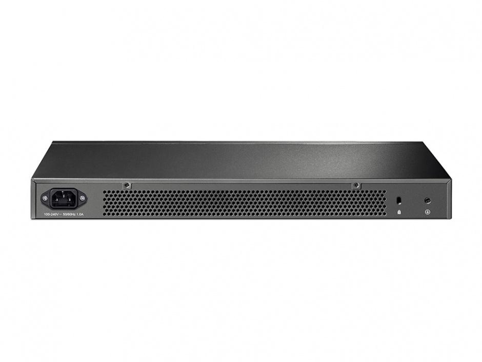 Imagine Switch L2 cu management full 48 Porturi 10/100/1000M, 4 sloturi SFP Gigabit, TP-LINK TL-SG3452