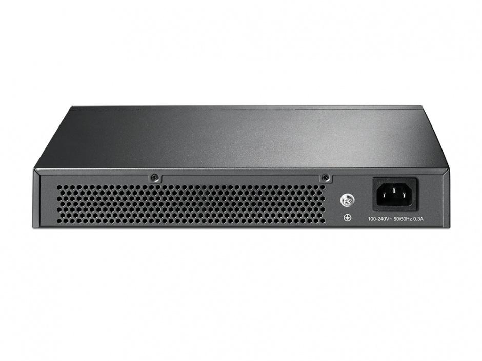 Imagine Switch Gigabit Easy Smart 16 porturi, TP-LINK TL-SG1016DE-1