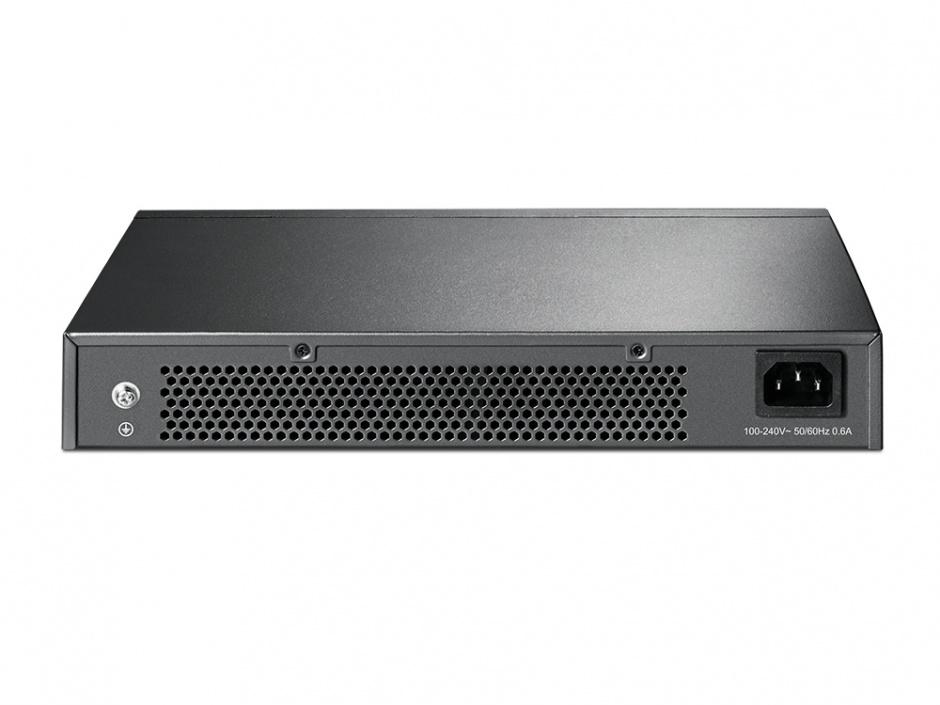 Imagine Switch 24 porturi Gigabit, desktop/rack, TP-Link TL-SG1024D-1