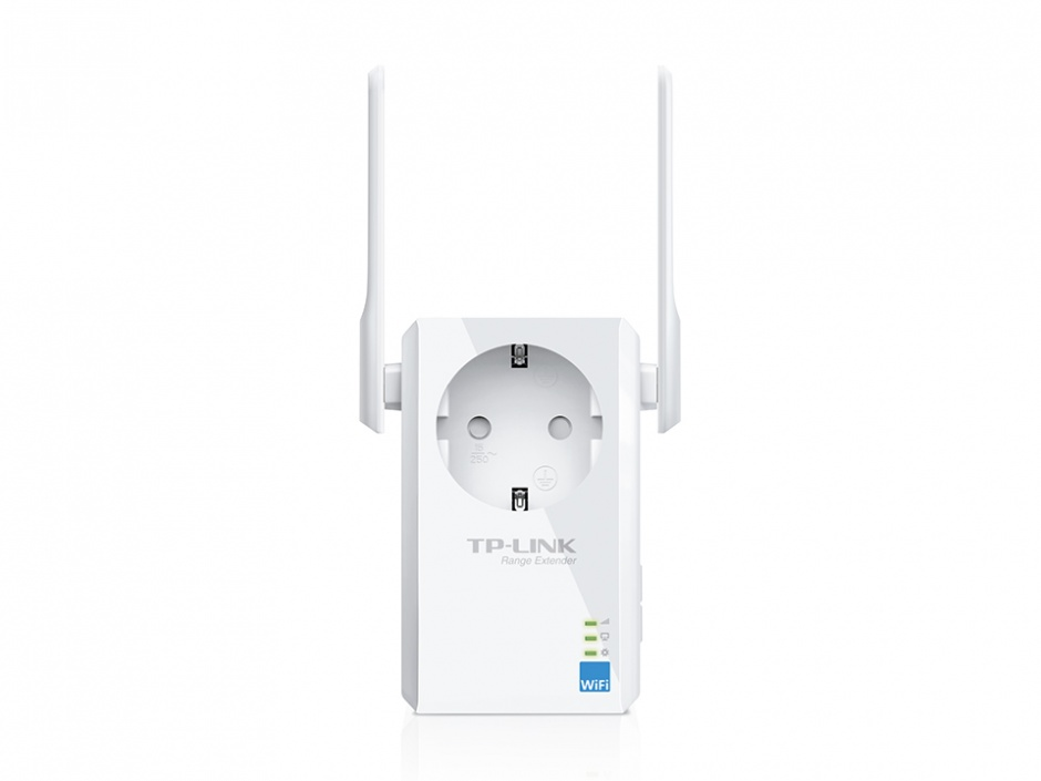 Imagine Range Extender Universal WiFi 300Mbps cu AC Passthrough, TP-Link TL-WA860RE