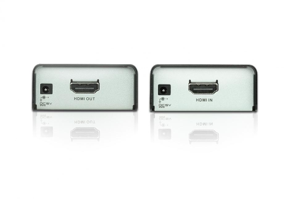 Imagine HDMI Extender maxim 60m cu tehnologia EDID, Aten VE800A-1