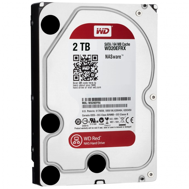 Imagine Hard Disk 2TB RED  64MB SATA3 2EFRX, WD WD20EFRX