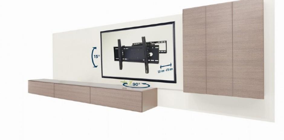 "Imagine Suport de perete pentru TV 32"" - 80'', Gembird WM-80RT-01"
