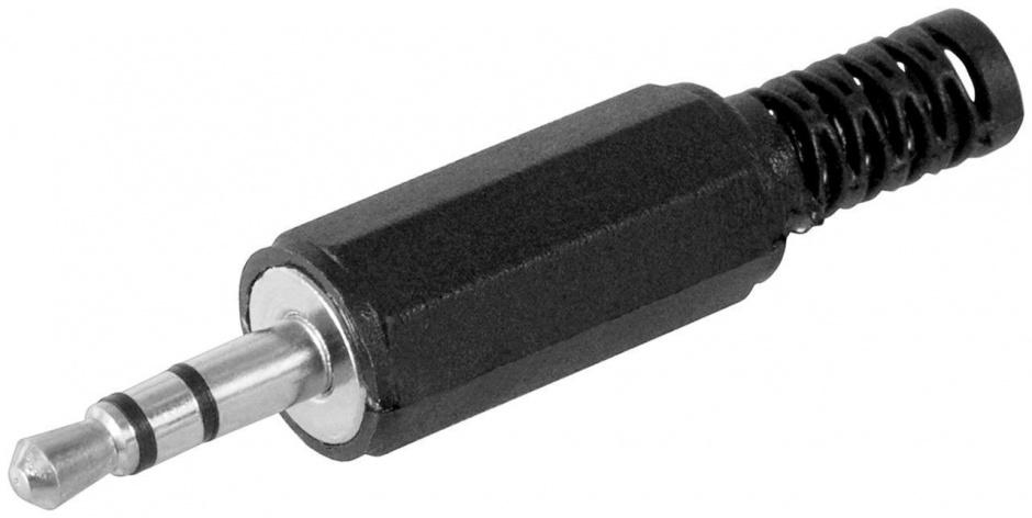Imagine Conector pentru lipit Stereo jack 3.5 mm 3 pini Tata, cjack3m