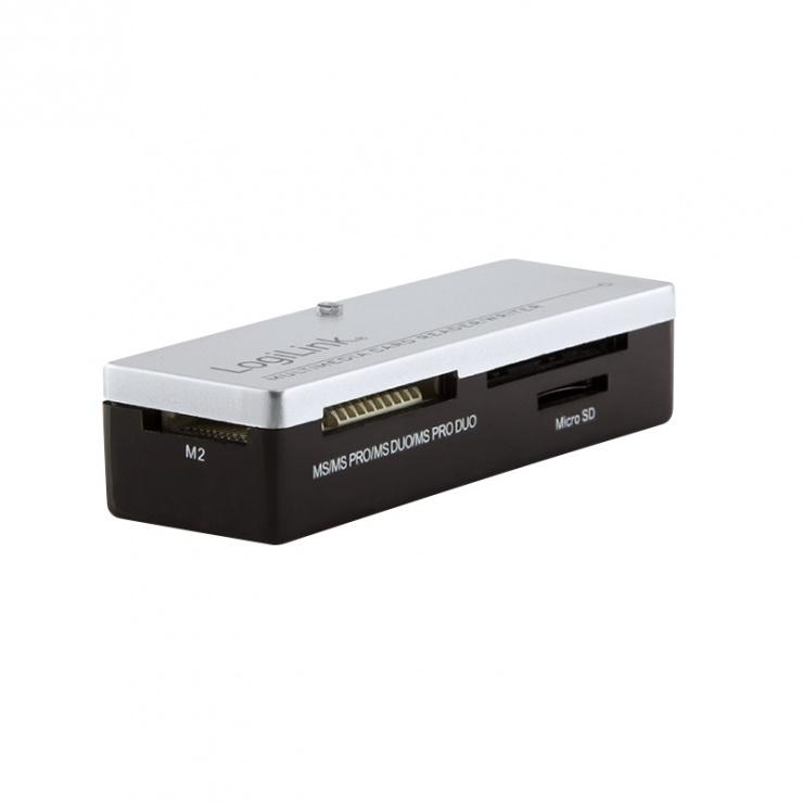 Imagine Cititor de carduri USB 2.0 All-in-one, LOGILINK CR0010
