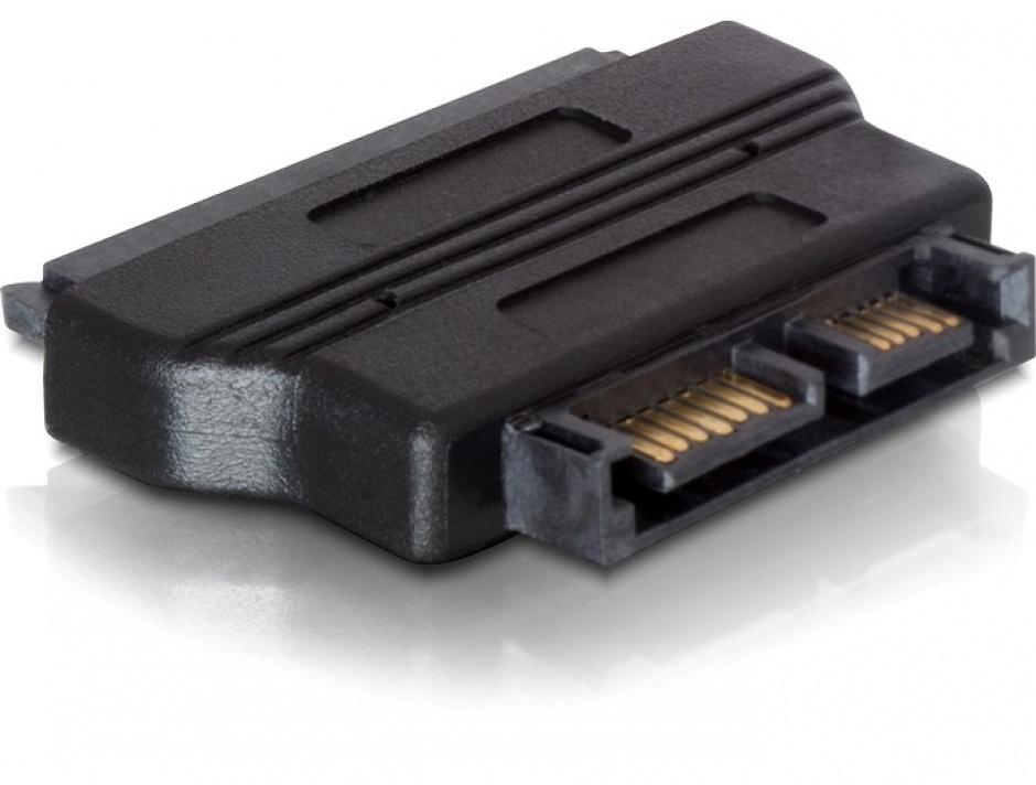 Imagine Adaptor SATA 22 pini la Slim SATA 13 pini M-T, Delock 61694-1