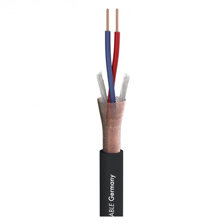 Imagine  Cablu microfon 2 x 0,22 mm (pret/ metru)