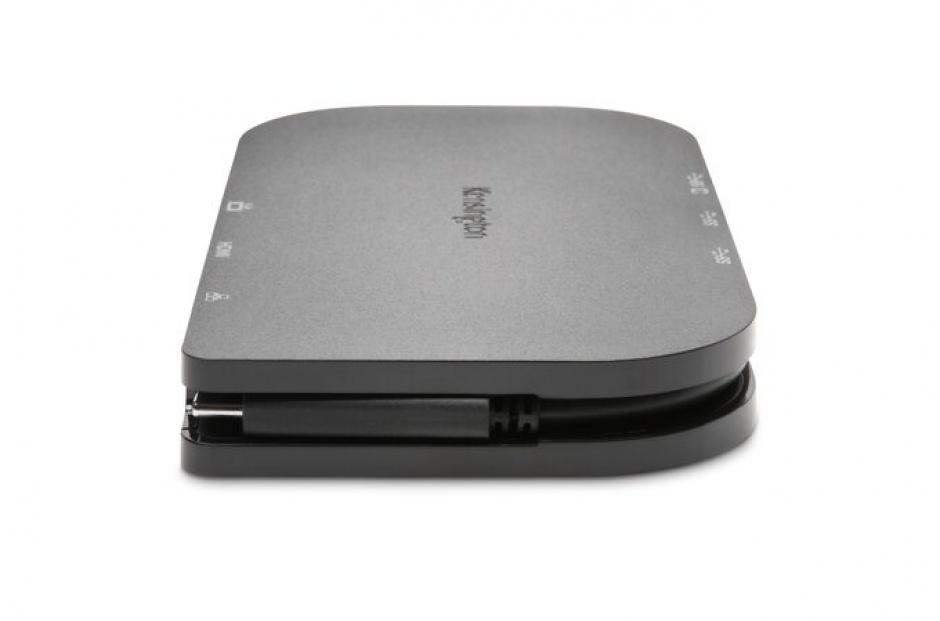 Imagine Docking station SD1600P USB-C, la 4K HDMI / VGA / Gigabit LAN / 2 x USB 3.0-A, Kensington K33968EU_B