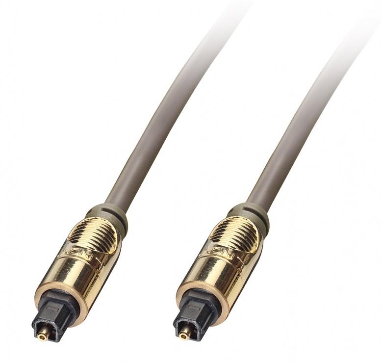Imagine Cablu optic digital Premium TosLink SPDIF 0.5m, Lindy L37880