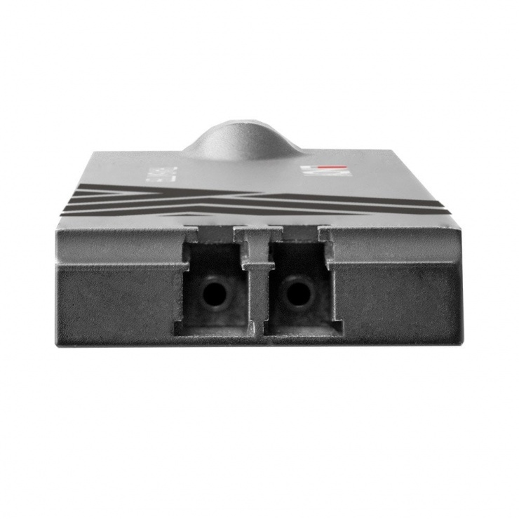 Imagine Extender HDMI prin fibra optica 4K@60Hz 300m, Lindy L38179