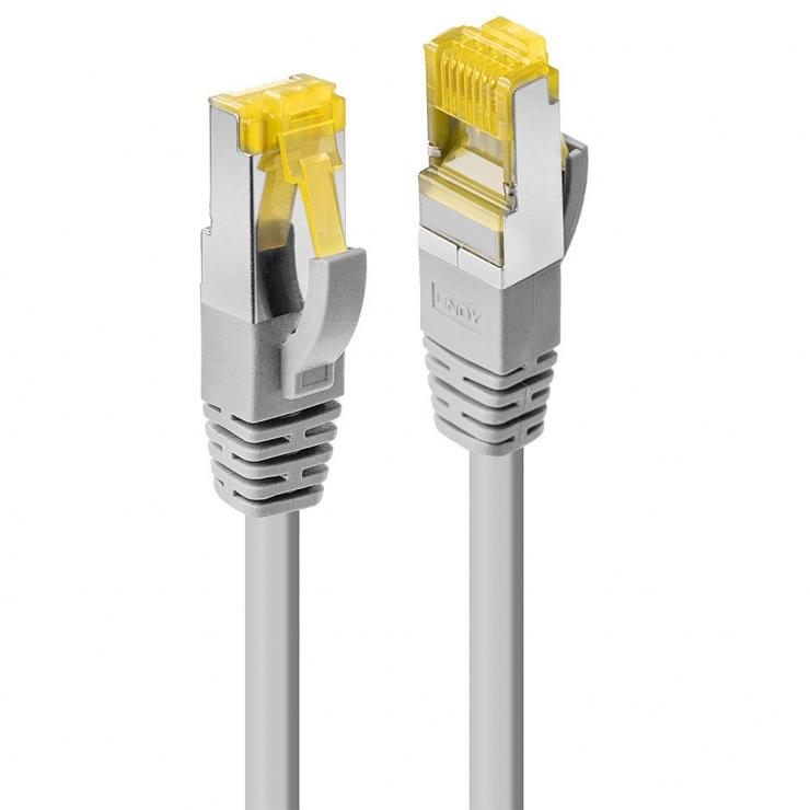 Imagine Cablu de retea S/FTP cat 7 LSOH Gri 15m, Lindy L47269