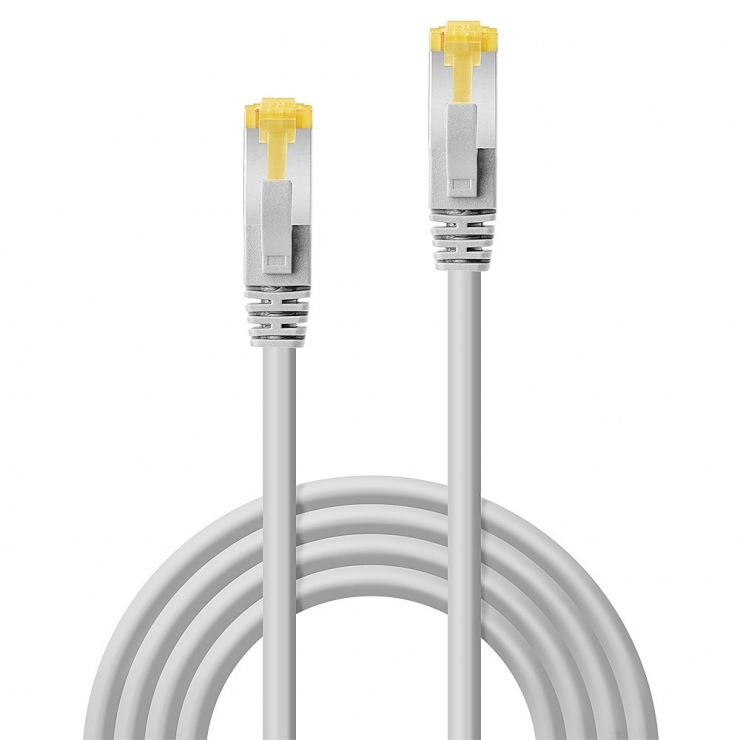 Imagine Cablu de retea S/FTP cat 7 LSOH Gri 20m, Lindy L47270