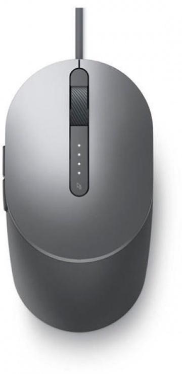 Imagine Mouse cu USB Titan Grey MS3220, Dell