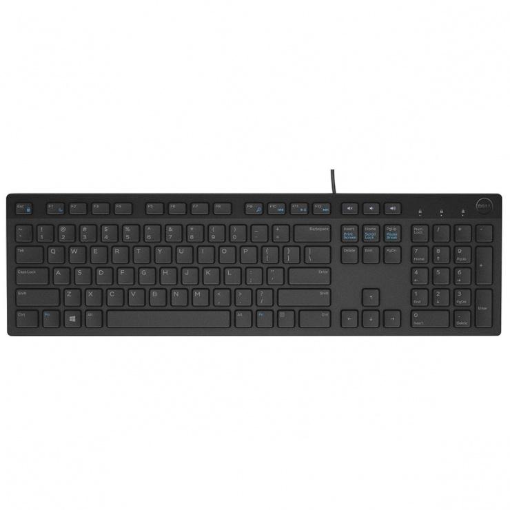 Imagine Tastatura Multimedia KB216 USB, Dell