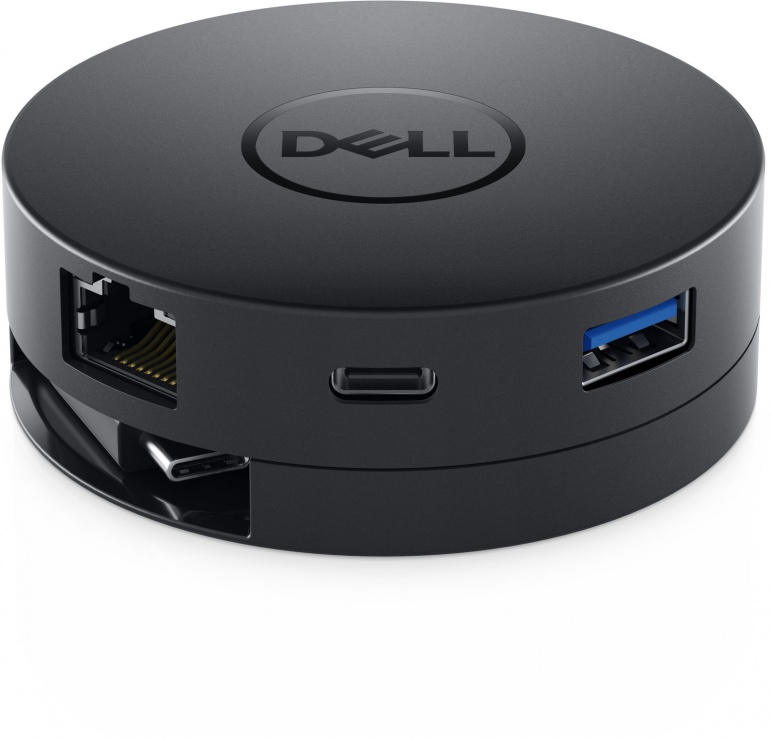 Imagine Docking station USB-C la 1 x HDMI-A, 1 x VGA, 1 x Displayport, 1 x USB 3.0-A, 1 x USB-C, 1 x Gigabit, Dell DA300