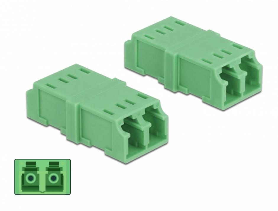 Imagine Set 4 buc cupla LC - LC Duplex Multimode M-M, Delock 85924