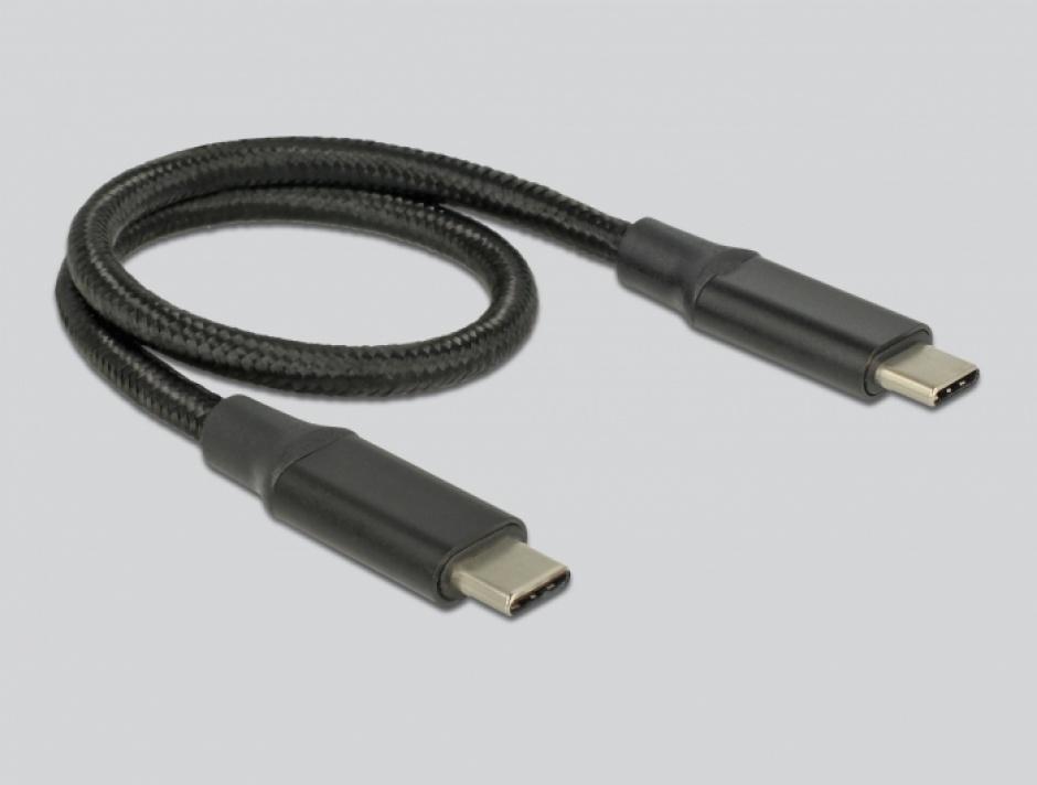 Imagine Rack extern USB type C pentru SSD M.2 PCIe/NVME + SATA, Delock 42633