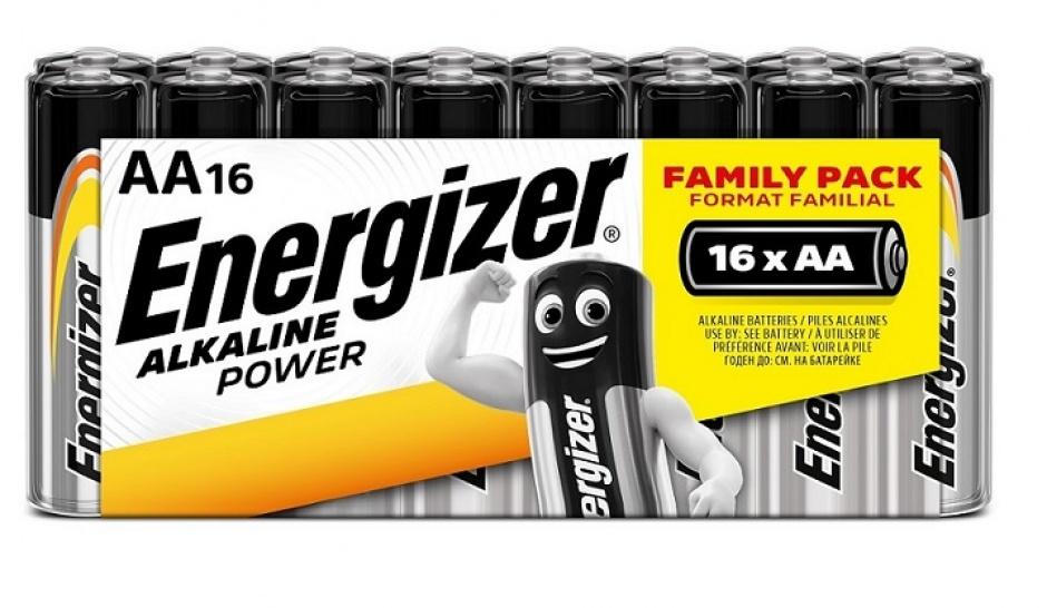 Imagine Set 16 buc baterii alkaline AA, ENERGIZER