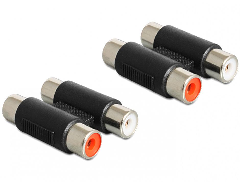 Imagine Adaptor 2 x RCA M - M, Delock 84439