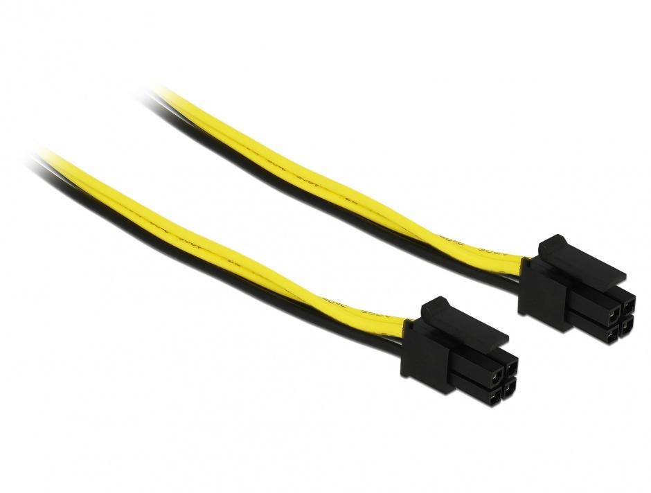 Imagine Cablu Micro Fit 3.0 4 pini Intel NUC T-T 30cm, Delock 85758