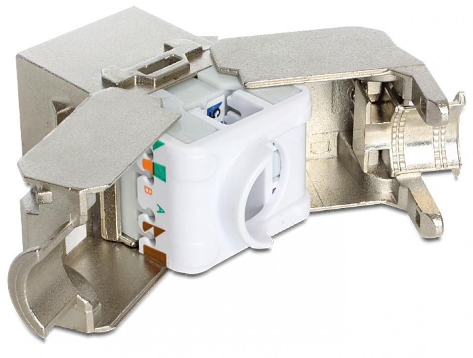 Imagine Module keystone RJ45 > LSA Cat.6A 24 buc/cutie, Delock 86405