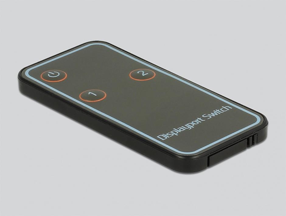 Imagine Switch Displayport 1.2 2 porturi 4K, Delock 87697