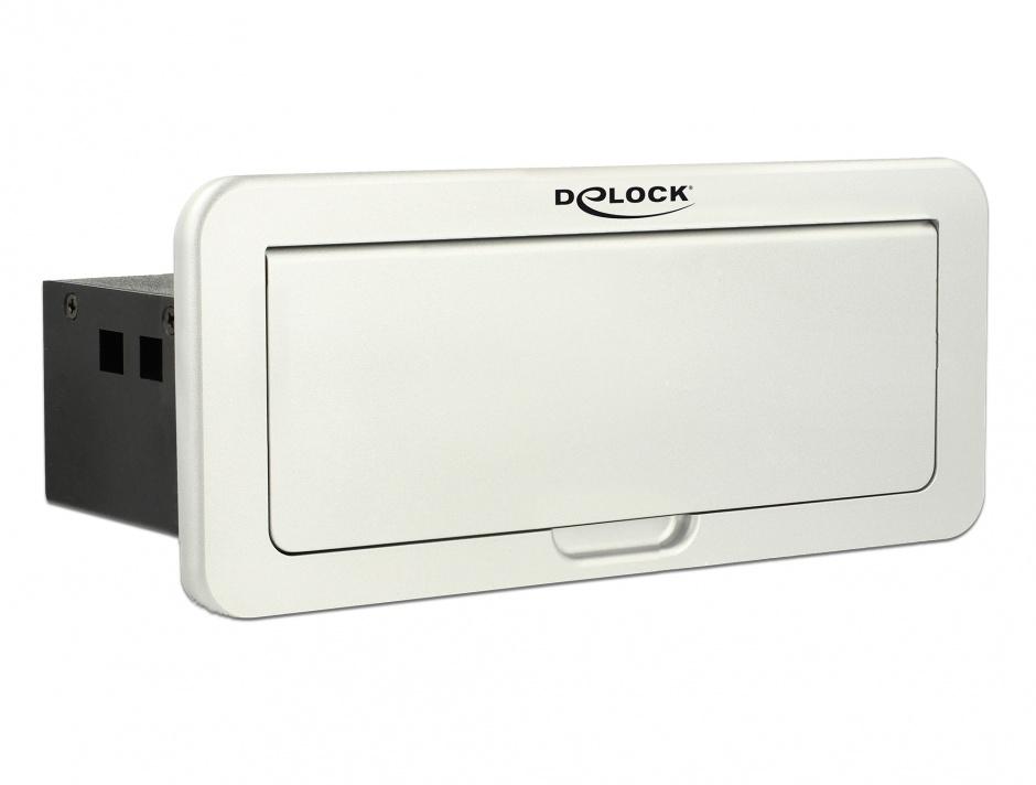 Imagine Convertor Multi audio-video (Mini Displayport, HDMI, VGA, Gigabit) la HDMI 4K 60Hz montare in masa,