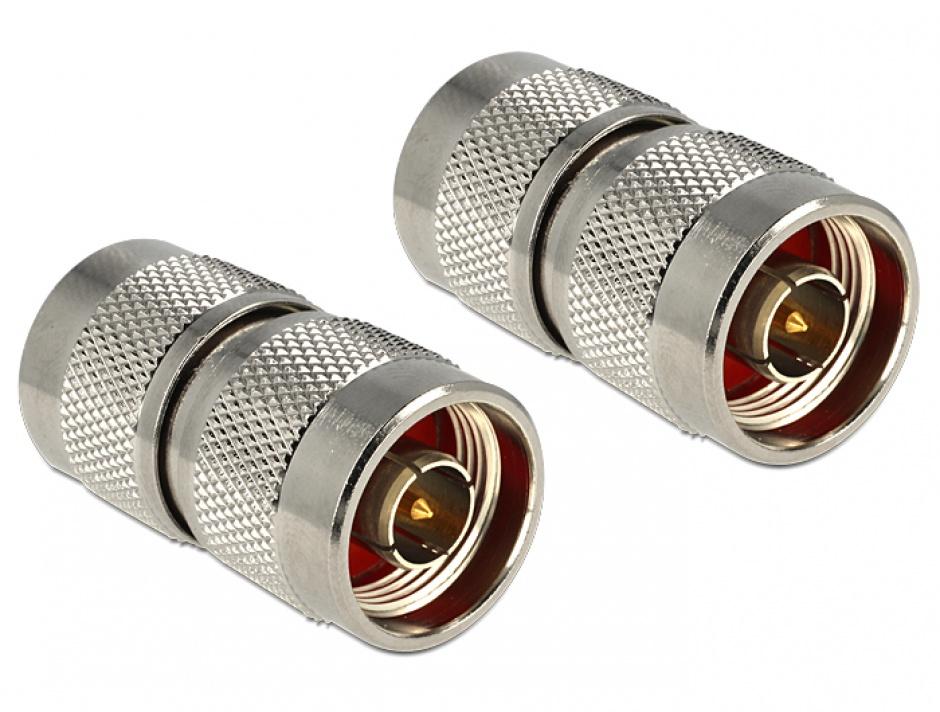 Imagine Adaptor N plug la N plug, Delock 88794