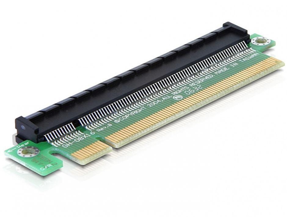 Imagine Riser Card extensie x16 la x16, Delock 89093