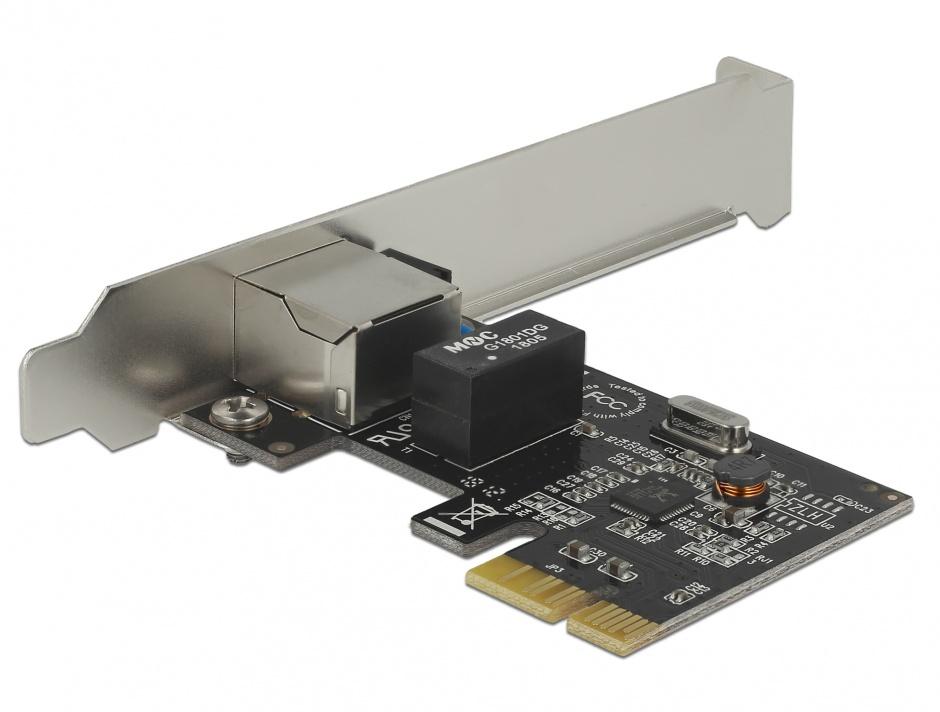 Imagine Placa PCI Express Card la 1 x Gigabit LAN, Delock 89357