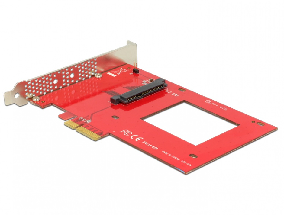 Imagine PCI Express x4 la 1 x port U.2 NVMe SFF-8639, Delock 89469